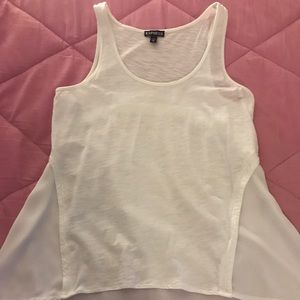 White tank top by Express